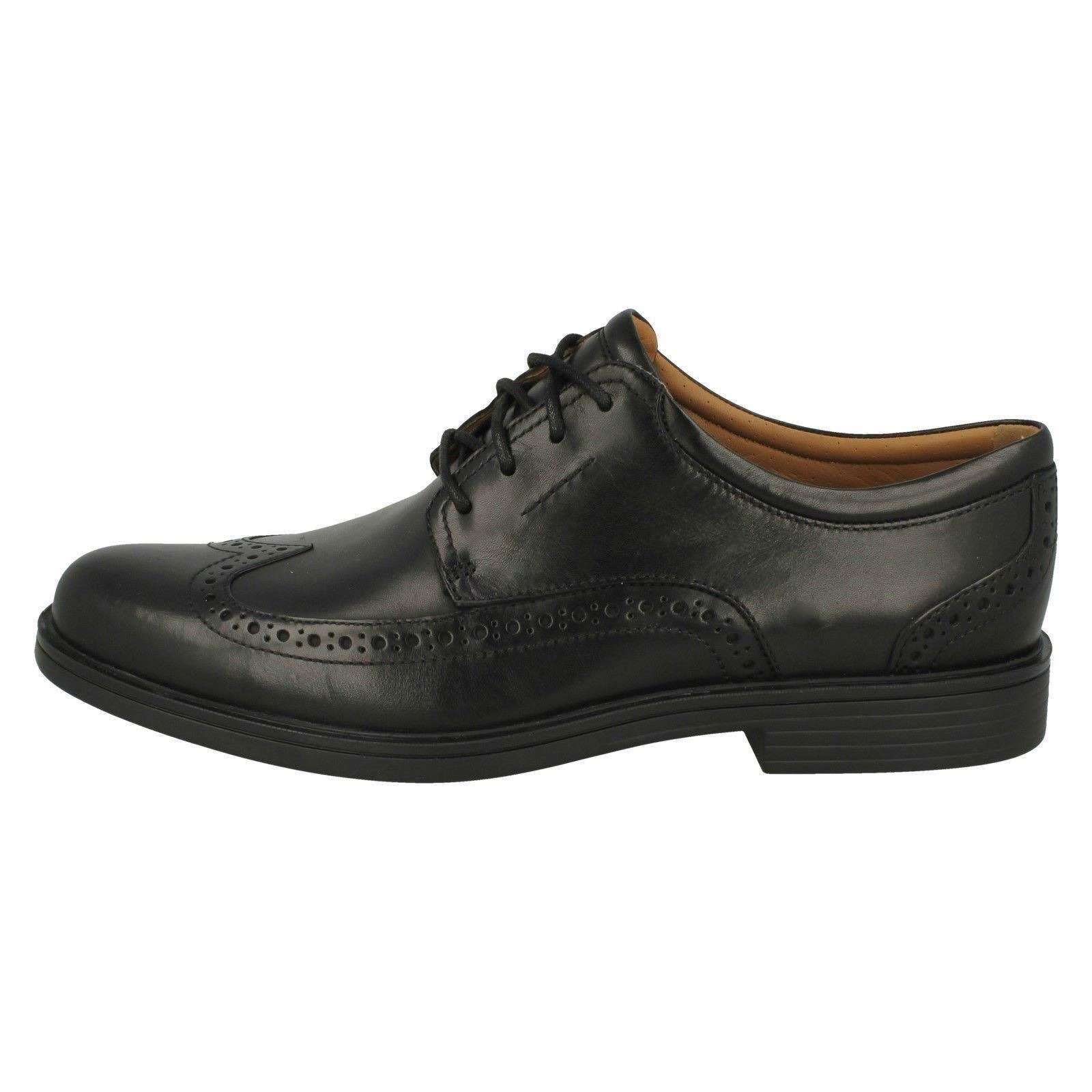 Men's Unstructured by Clarks Brogue Smart Shoes Un Aldric Wing