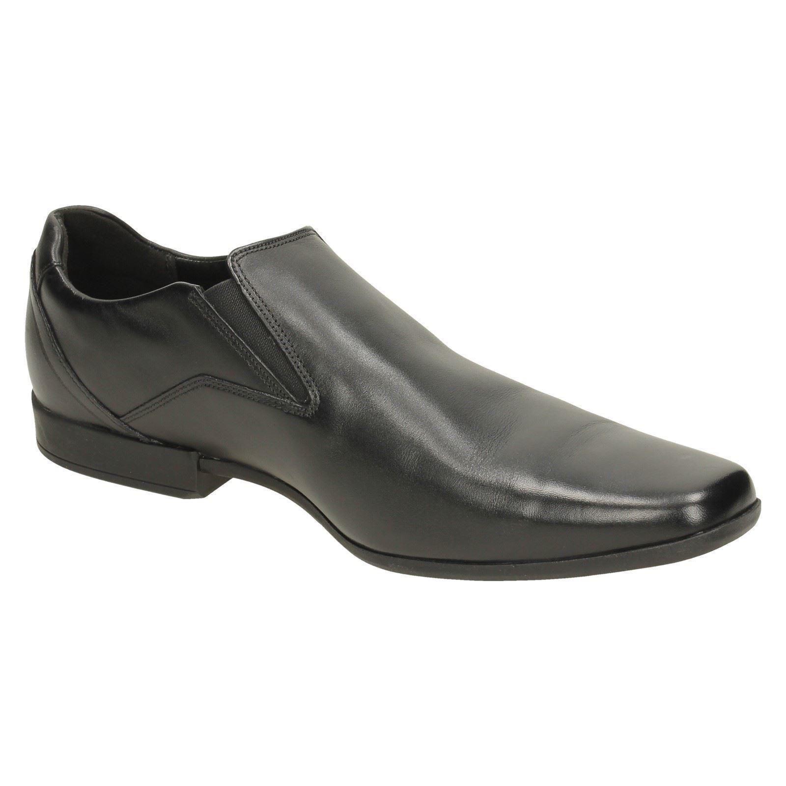 Men's Clarks Formal Slip On Shoes Label - Glement Slip