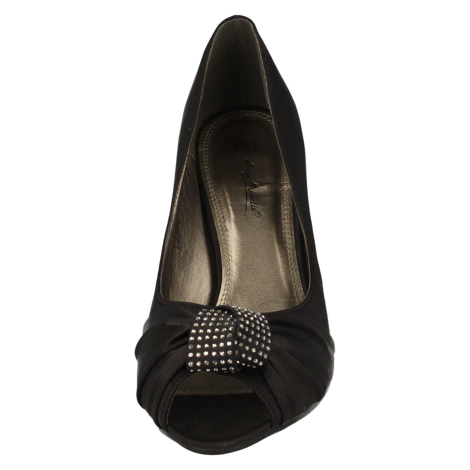 Damas Anne Michelle Punta Abierta Zapatos Estilo L2214