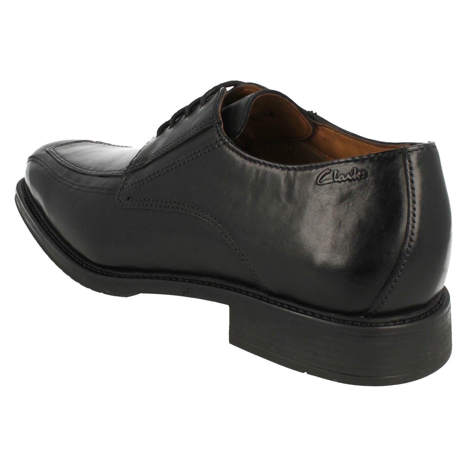 Para Hombre Clarks lazada Zapatos De Cuero Estilo-Driggs Estilo-Driggs Cuero caminar 3df7ca