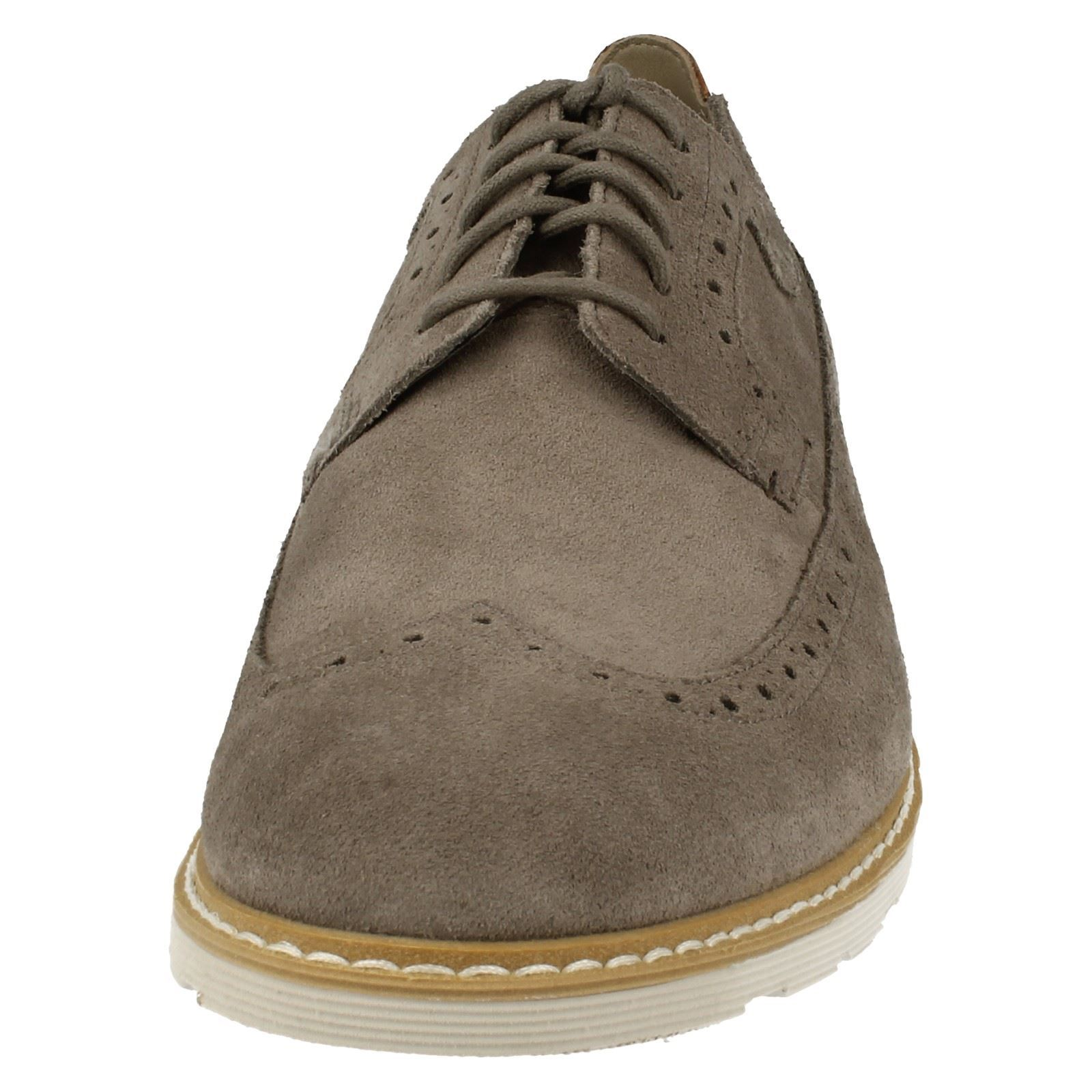 Men's Clarks Casual Lace Up Brogues Shoes The The The Styel - Gambeson Dress 4589c5