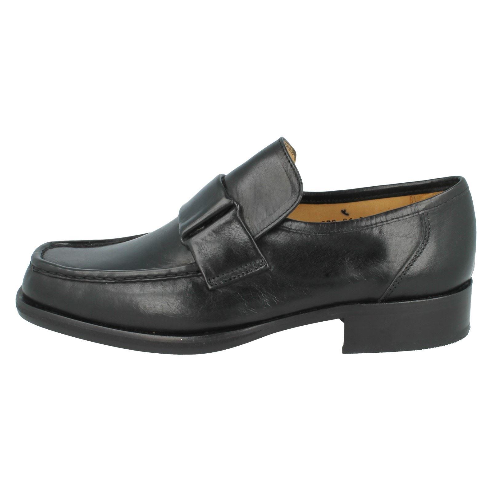 Mens Grenson Formal Slip Slip Slip On Shoes Fitting F Label - Dirk 9639 47c5b9