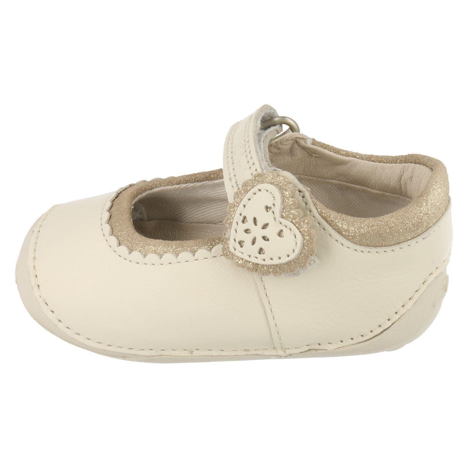 Girls Clarks First Shoes - Ida Heart