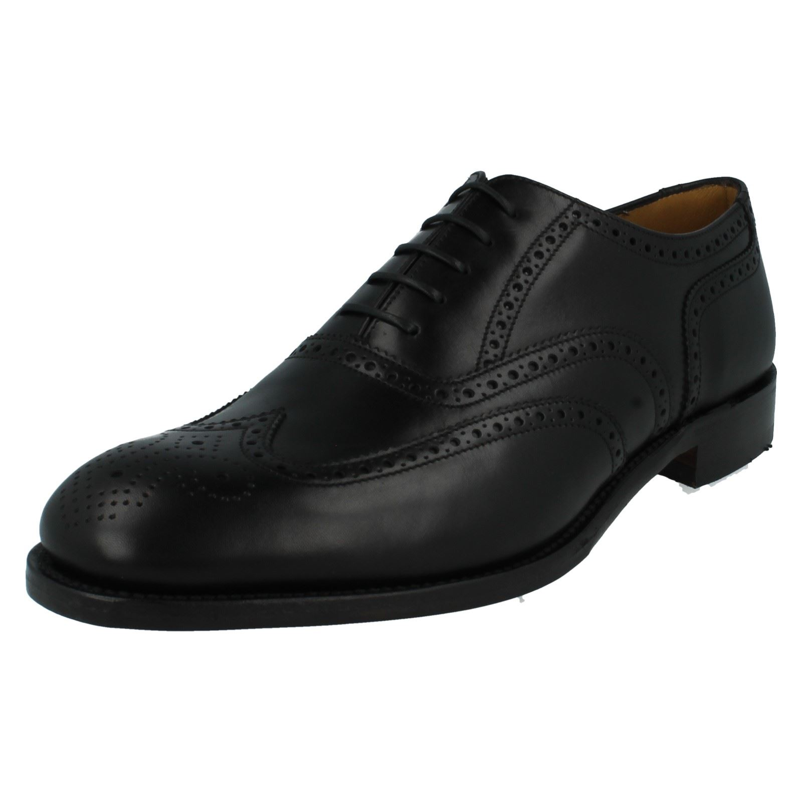Mens Shoes Loake Formal Leather Brogue Shoes Mens Severn2 87bd61