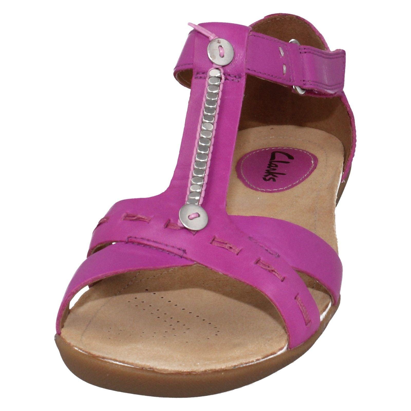 Sandalo Casual Donna Clarks in Pelle Casual Sandalo Sandalo Gladiatore Raffi Raffi   4520ce