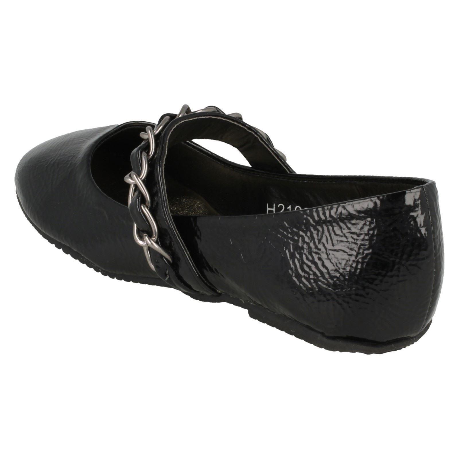 Zapatos de chicas escuela inteligente punto en estilo H2198 ~ K