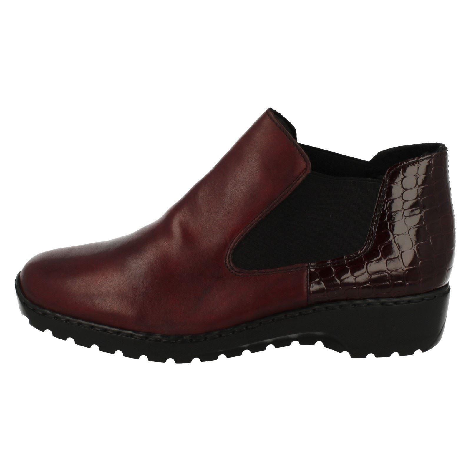 Ladies Rieker Ankle Boots L6090