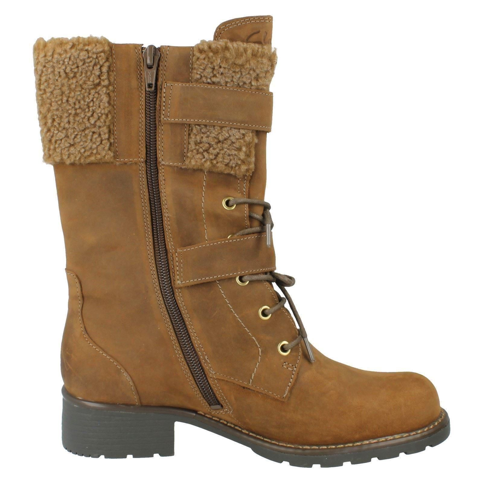 Ladies Clarks Boots Boots Boots Label Orinoco Prize 7c8bd6