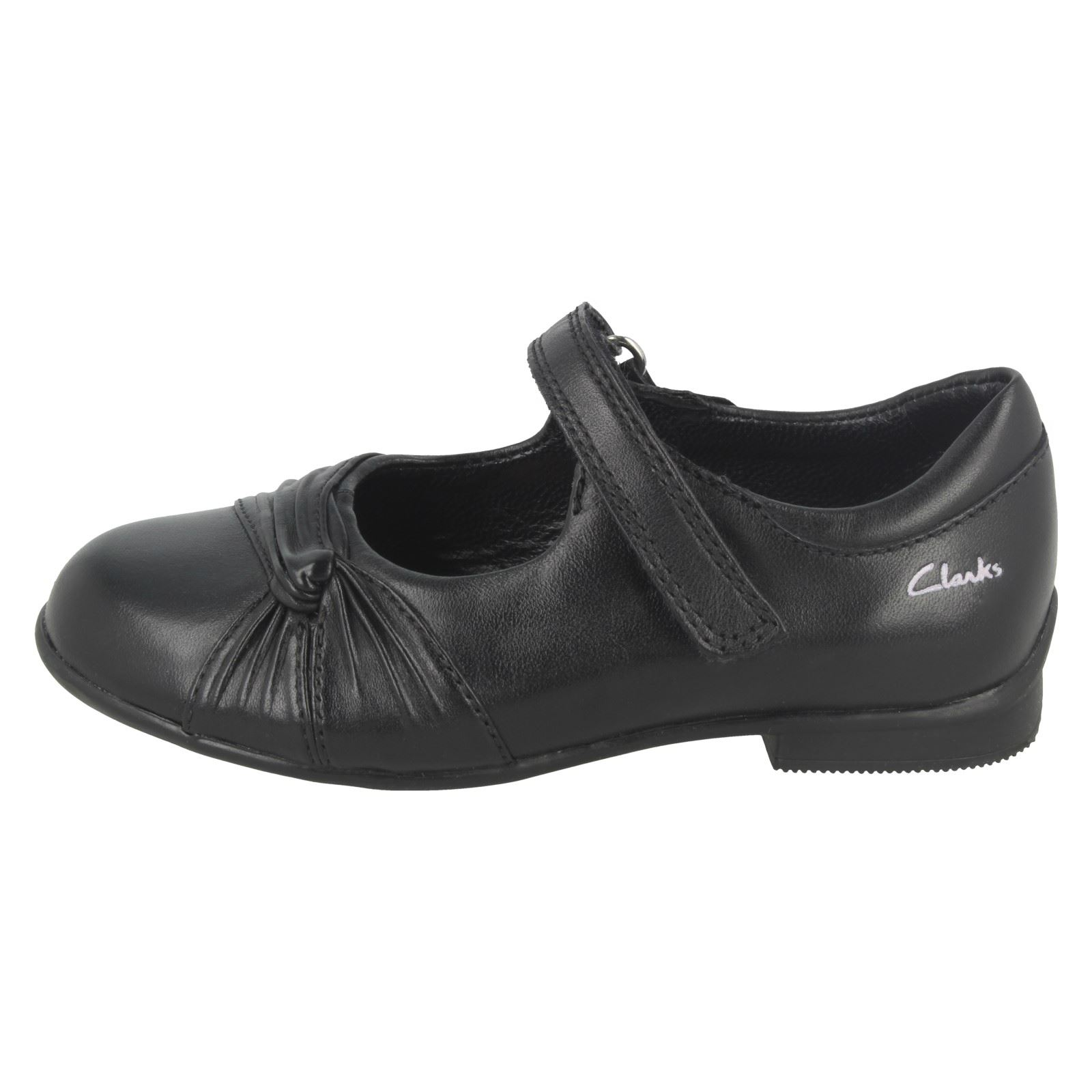 Girls Clarks 'Bethan Pre' School Shoes Style ~ K