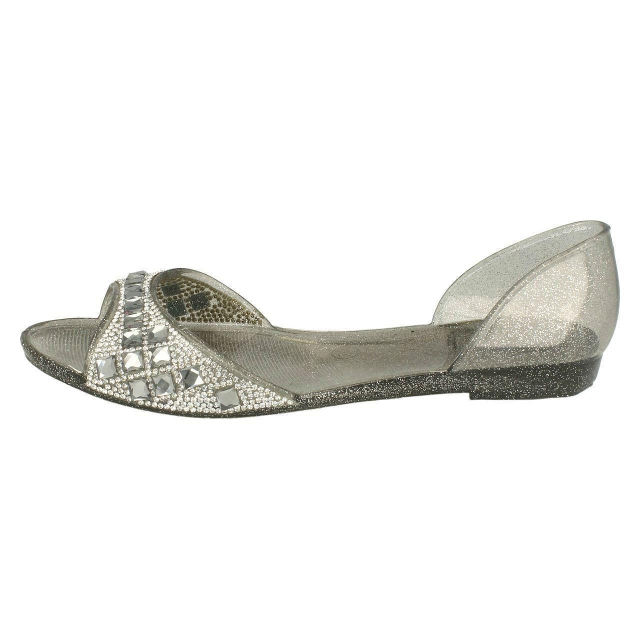 Damas Spot on jellyshoes F0794 el estilo ~ K