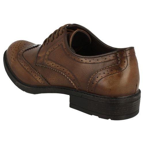 Para Hombre Maverick Zapatos Con Cordones Smart Brogue A2125 ~ K