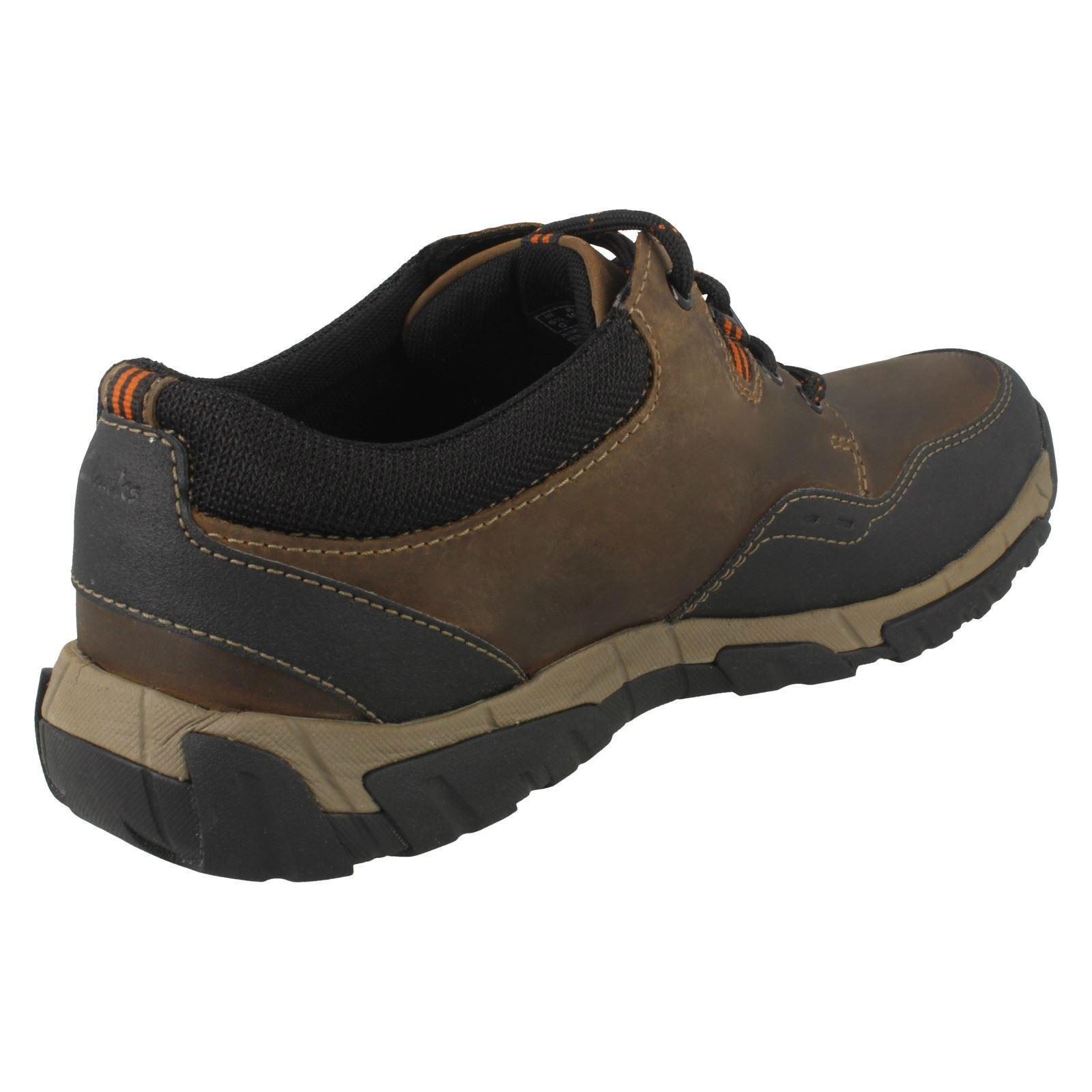 Para Hombre Clarks Impermeable Casual Con Cordones Estilo-Walbeck Estilo-Walbeck Cordones Edge II 36ef5a