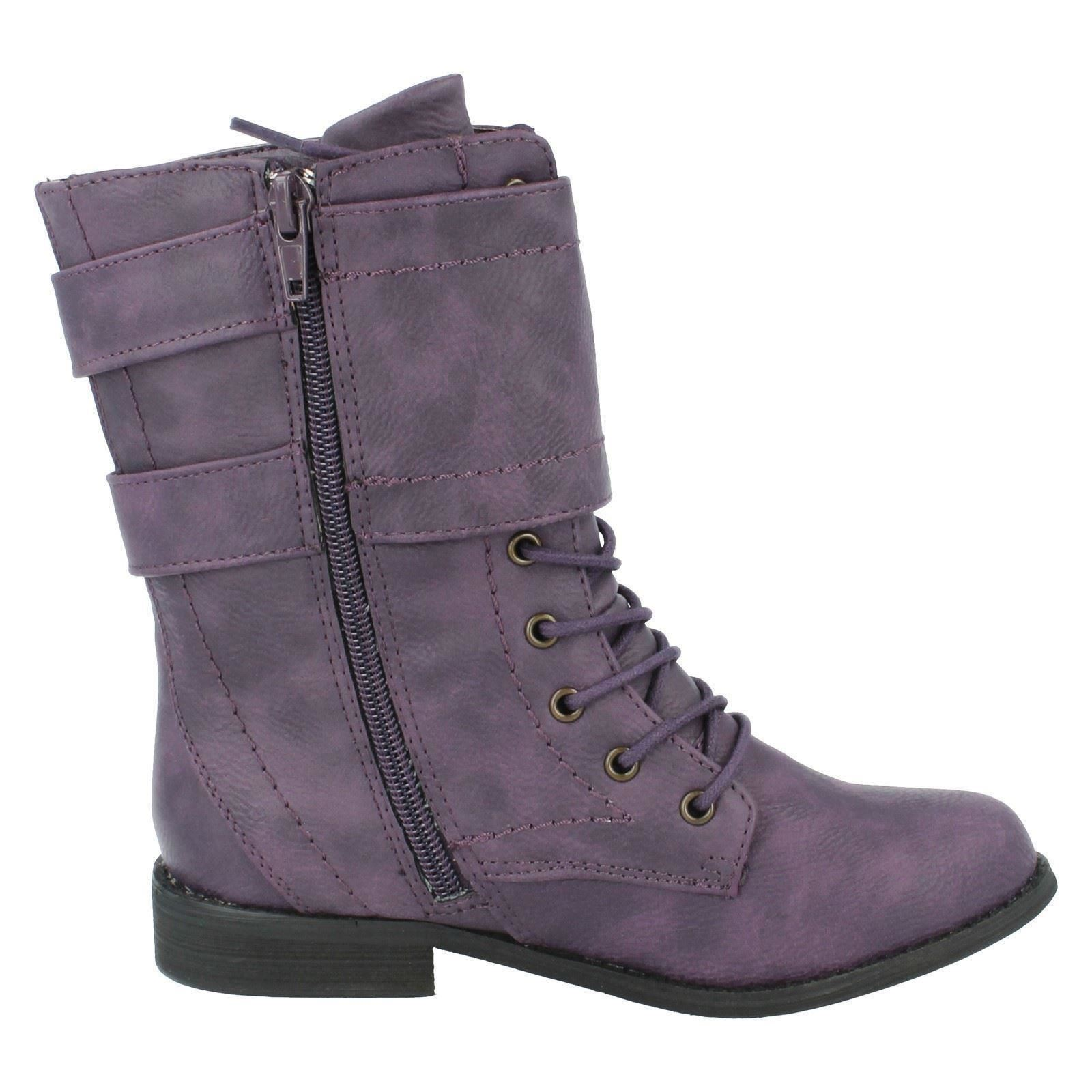 Girls Spot On Boots Style - H5025