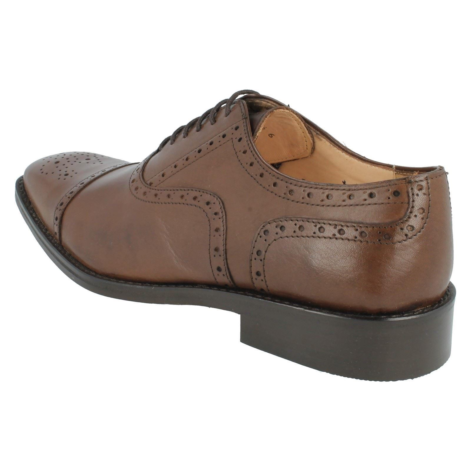 Feathermaster Style Mens Brown Totti 5623 Brogue Grenson Shoes PnnS85Tq