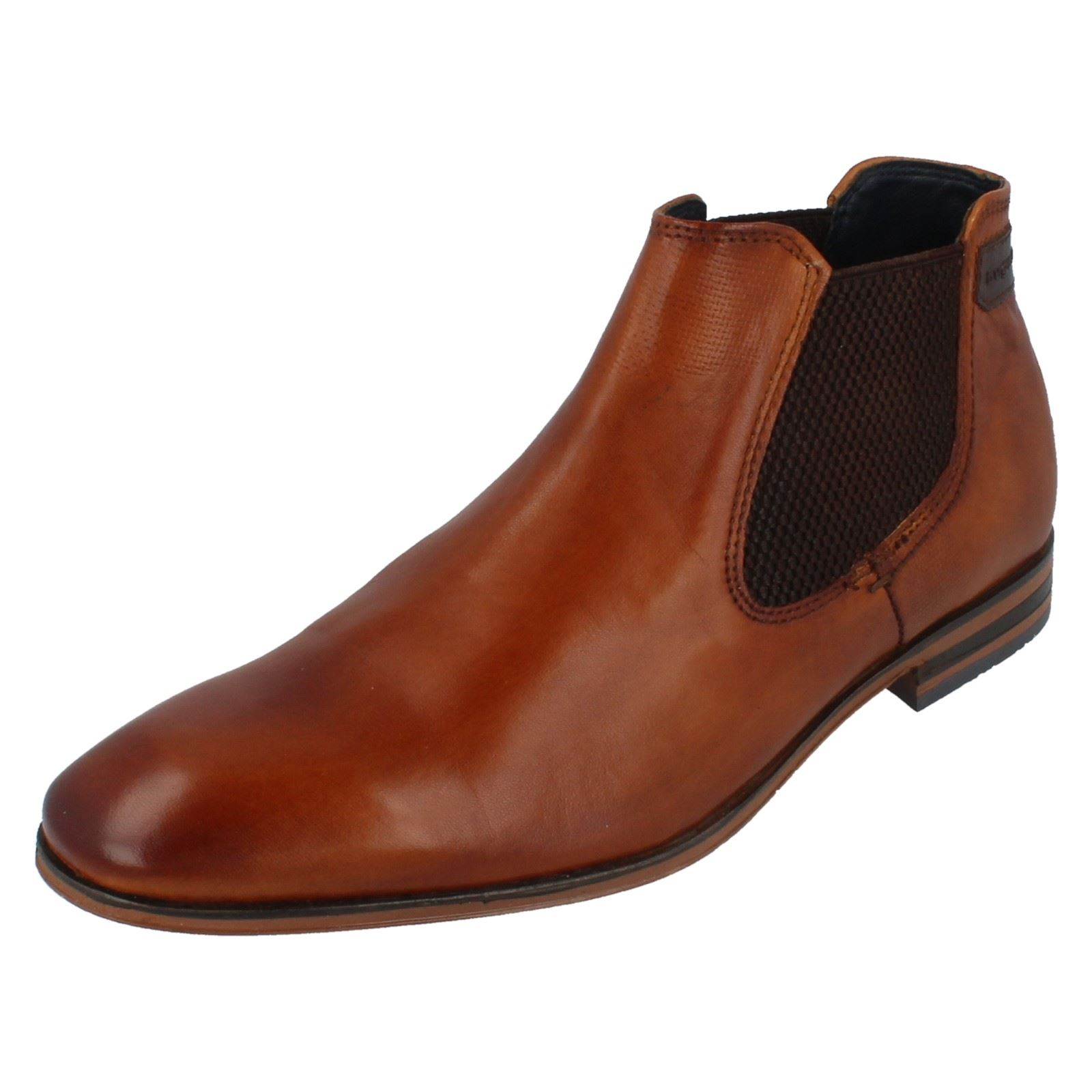 huge selection of b264b 0bcef Mens Formal Ankle 6300 10120 The 4100 ~ Boots N 311 Style Bugatti Leather  brown Cognac 11qwpr5
