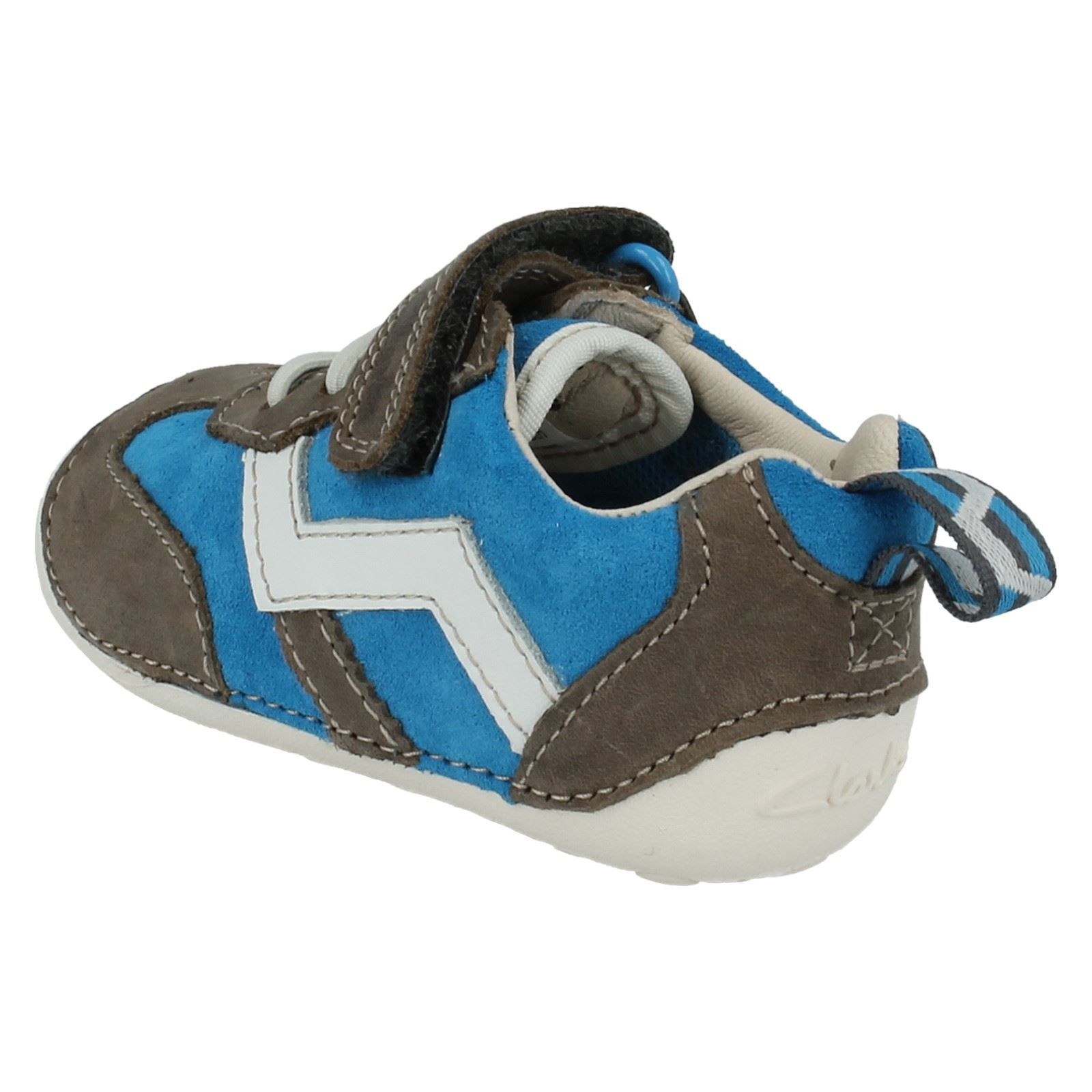 Boys Clarks First Shoes Style Cruiser Play
