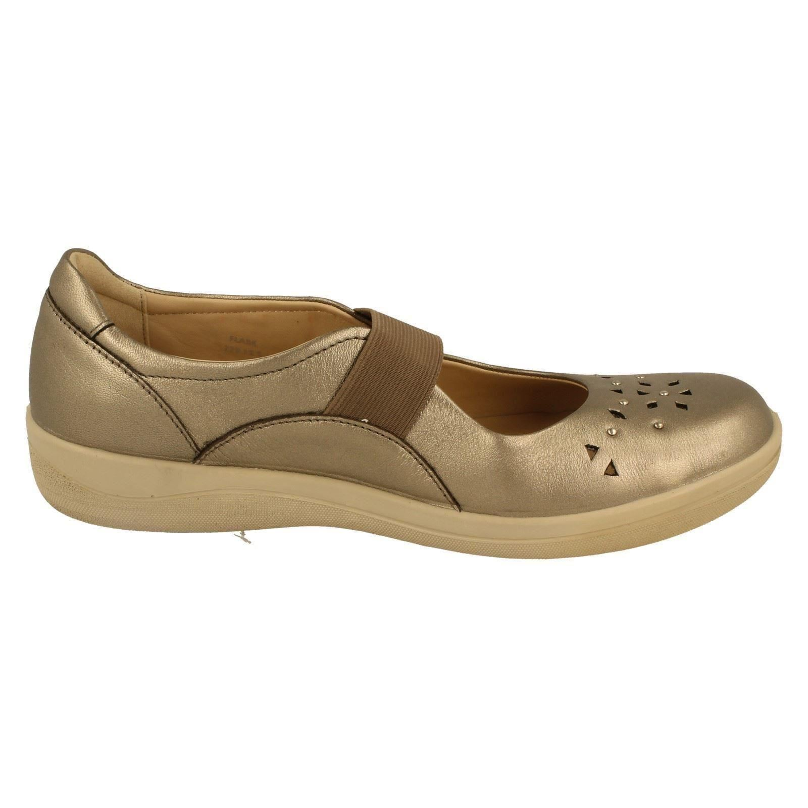 Ladies Padders Mary Jane Shoes Style Flare -W