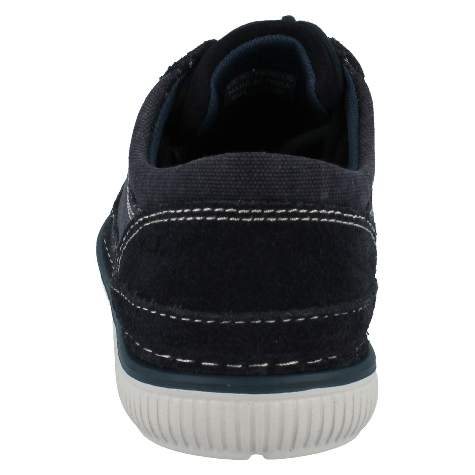 Men's Clarks Canvas The Lace Up Sports Schuhes The Canvas Style - Sulley Ollie 2b71bf