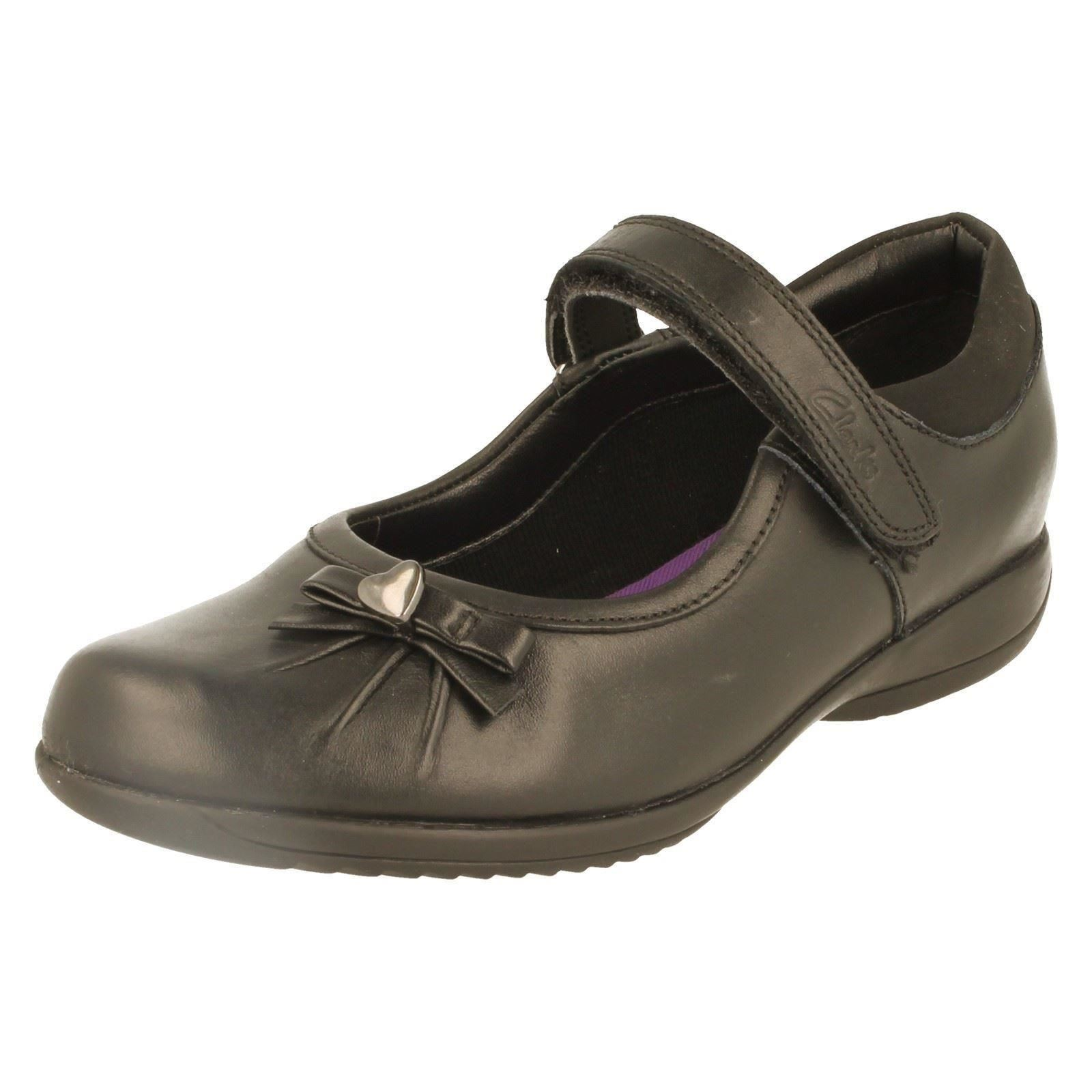 Girls Clarks Formal/School Shoes The Styel - Daisy Gleam