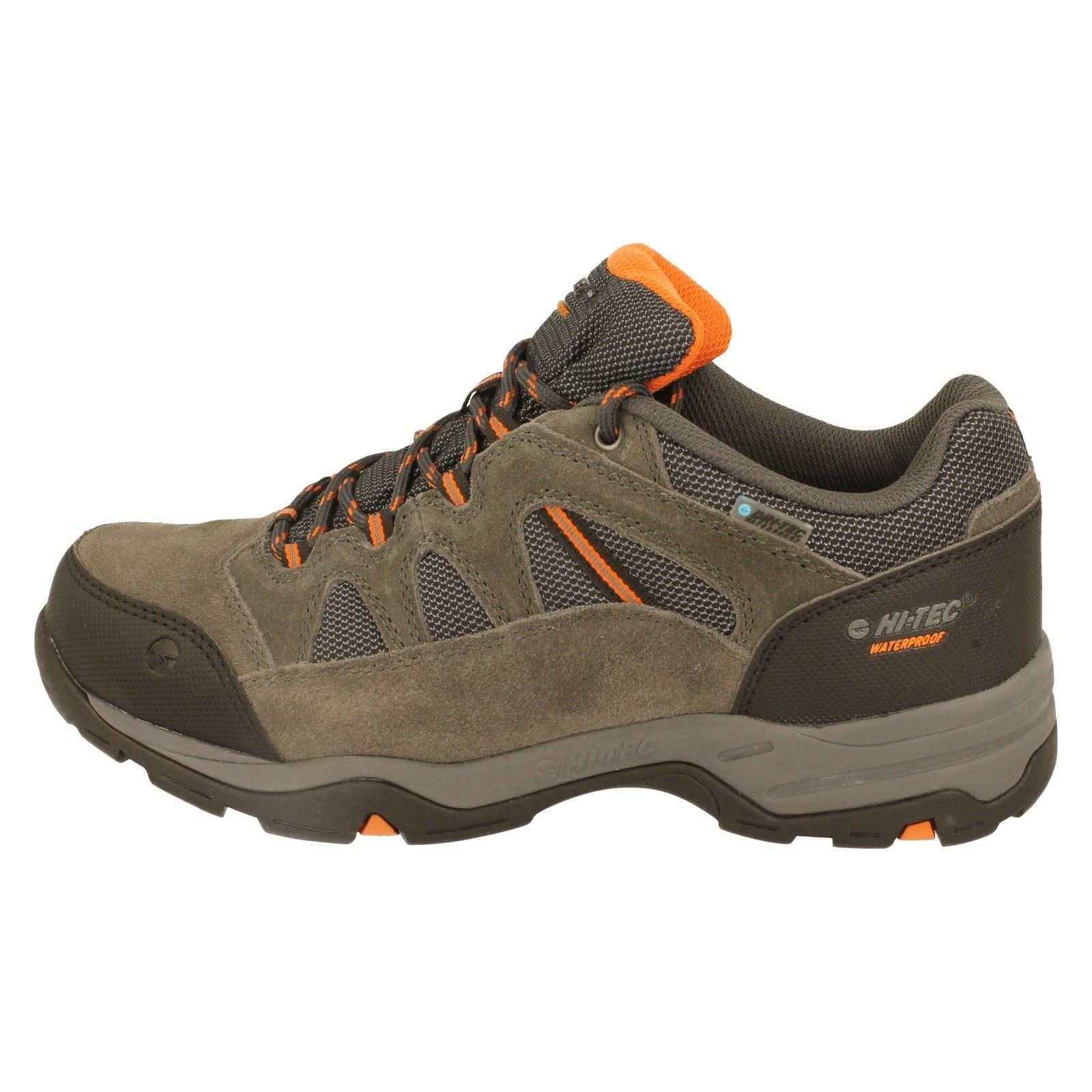 Mens Hi-Tec Walking Shoes Label -W Bandera II Low WP -W Label eaebfe