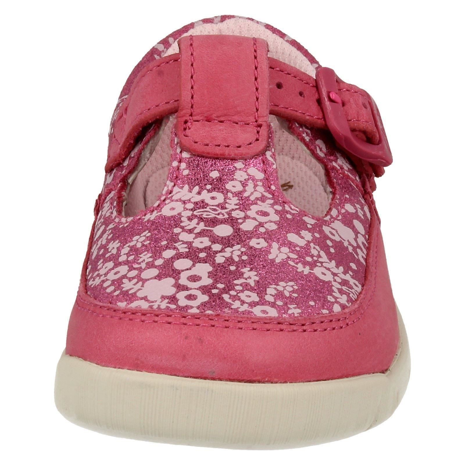 Girls Clarks First Shoes Label Crazy Tale