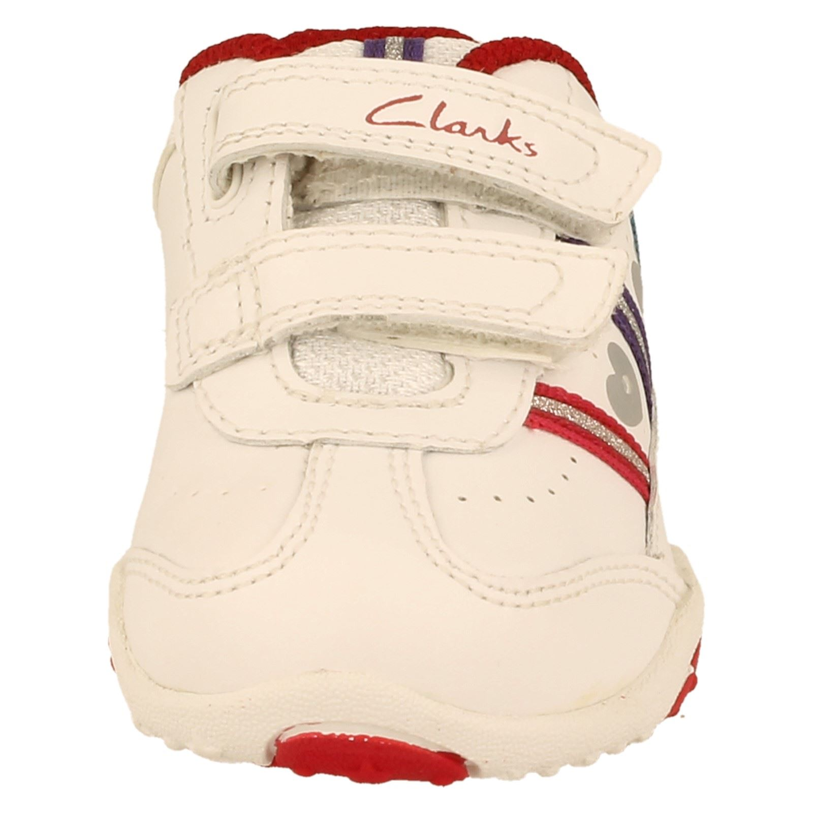 Girls Clarks First Trainers With Lights Mystic Elf -W