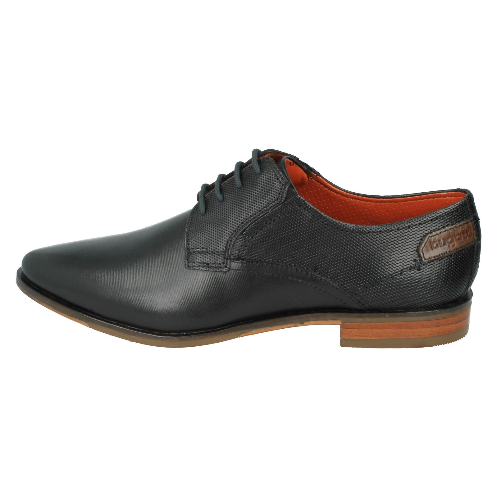 Mens Bugatti Shoes Formal Shoes Bugatti Label 311-14701-1010 -w d18275
