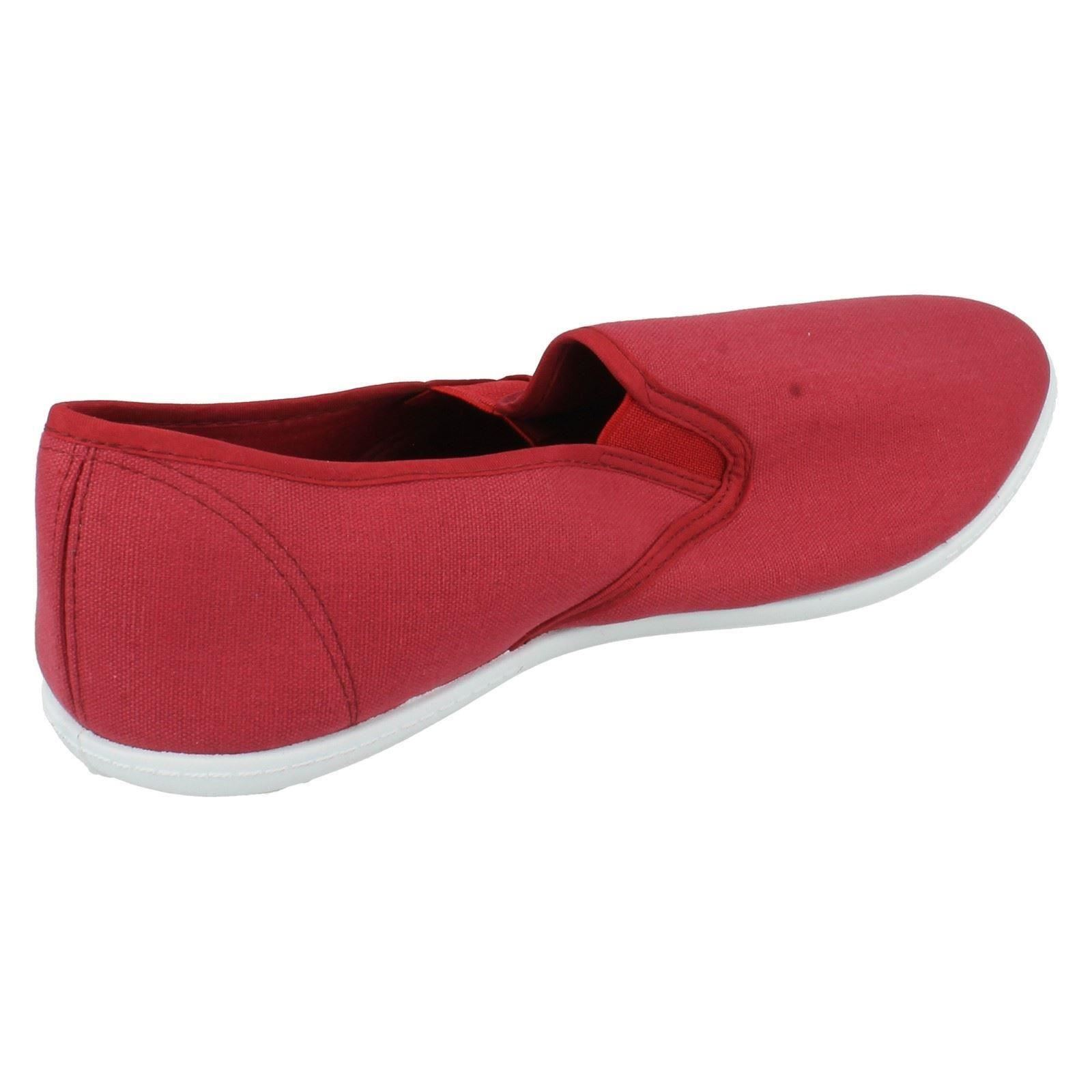 Para Hombre Unbranded Slip On Canvas Shoes a1096