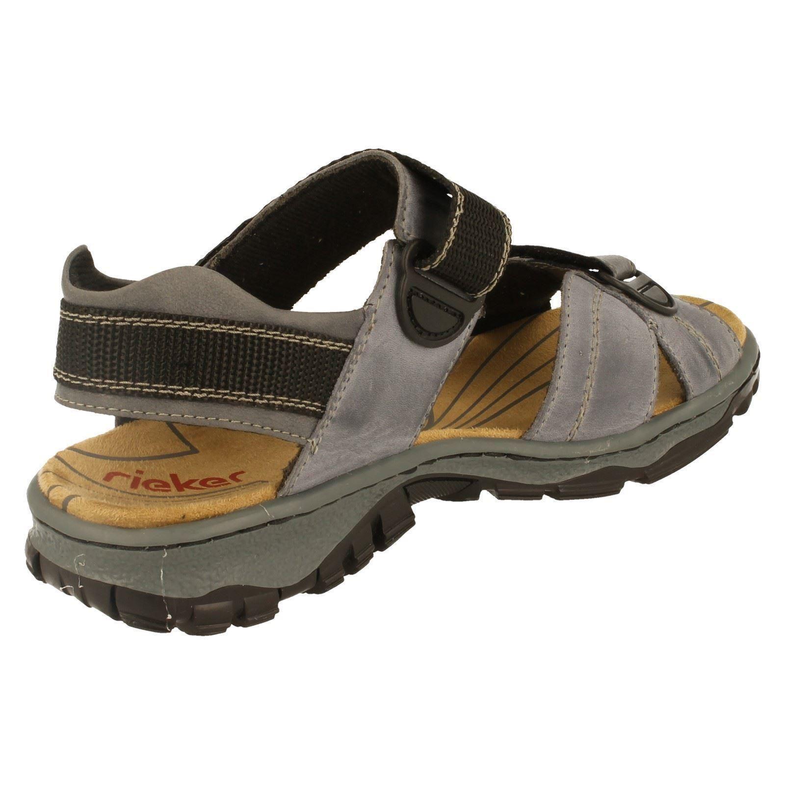 Señoras Rieker Trekking Sandalias Estilo 68851-W
