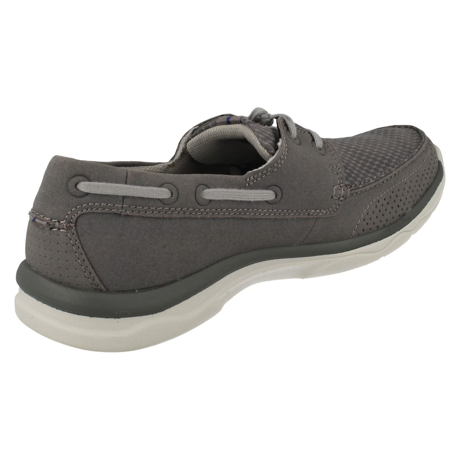 Men's Clarks Cloudstepers Casual Sporty Trainers Style - Marus Edge