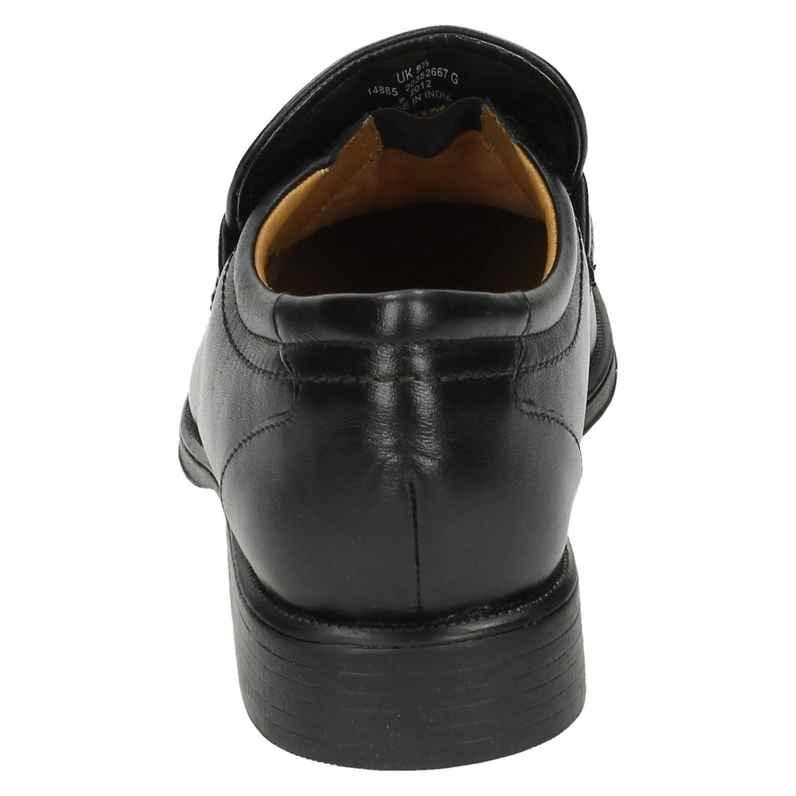 Hombre Clarks Slip On On On Zapatos Handle Work ~ N 22a6d4