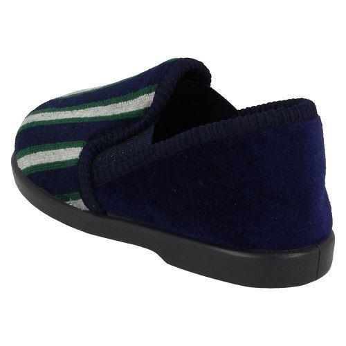 Chicos punto en Casual Resbalón en Zapatillas De Rayas Anthony 'el estilo K ~