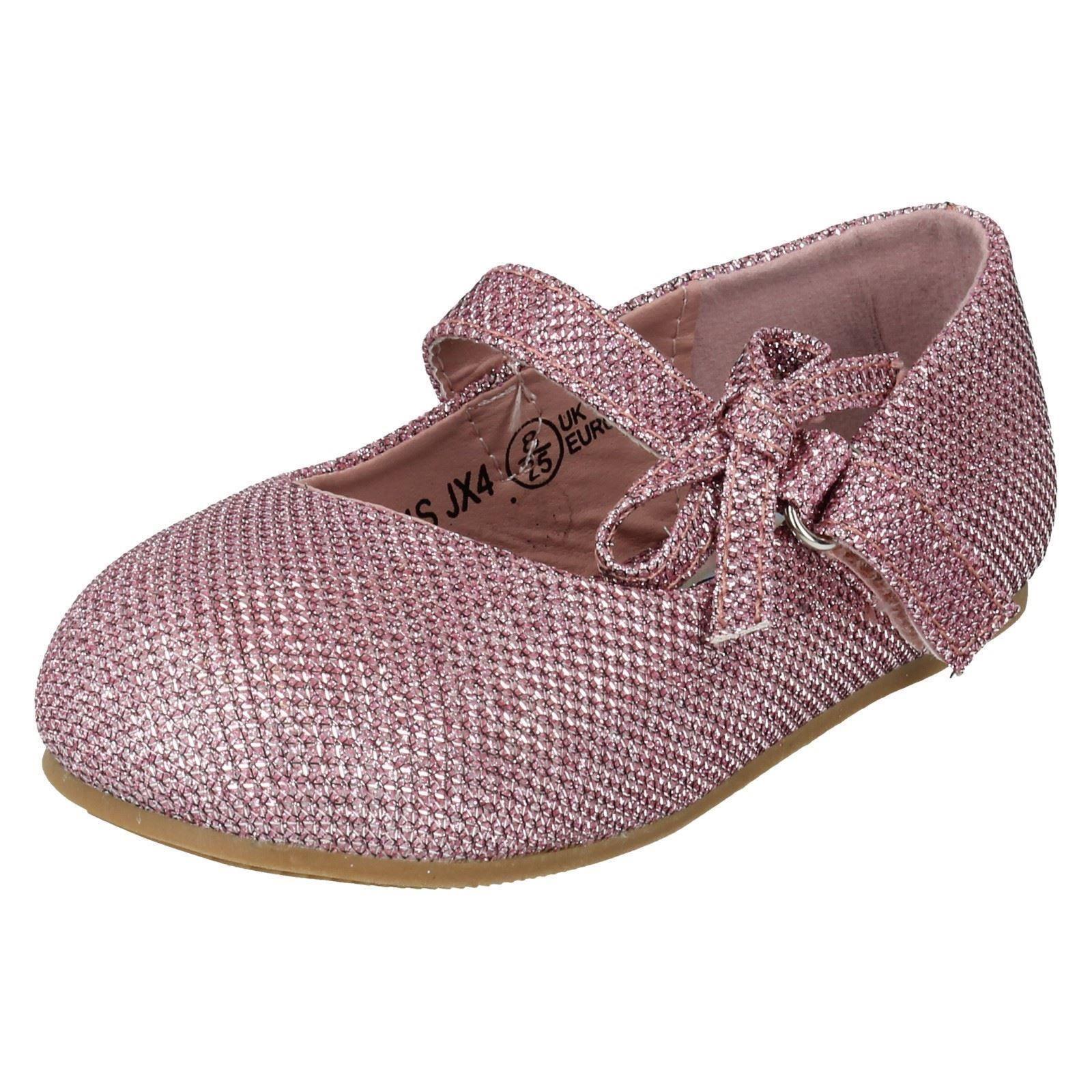 Girls In situ en los zapatos con detalle de moño el estilo-h2304
