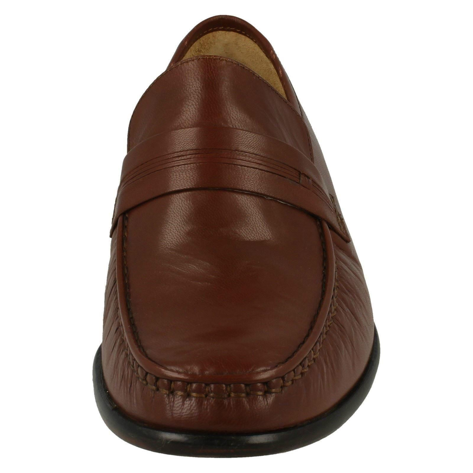 Uomo Thomas Blunt Formal Smart Style Moccasin Schuhes 'Clapham' The Style Smart  K 2e4c7d