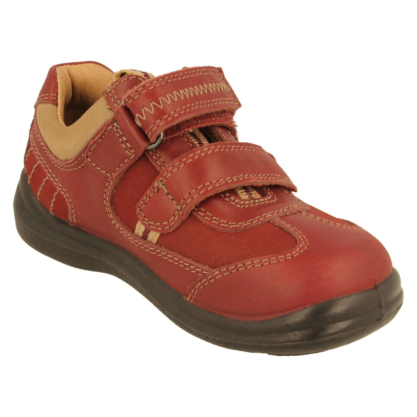 Start Rite Boys Casual Leather Shoes Rowdy ~ K