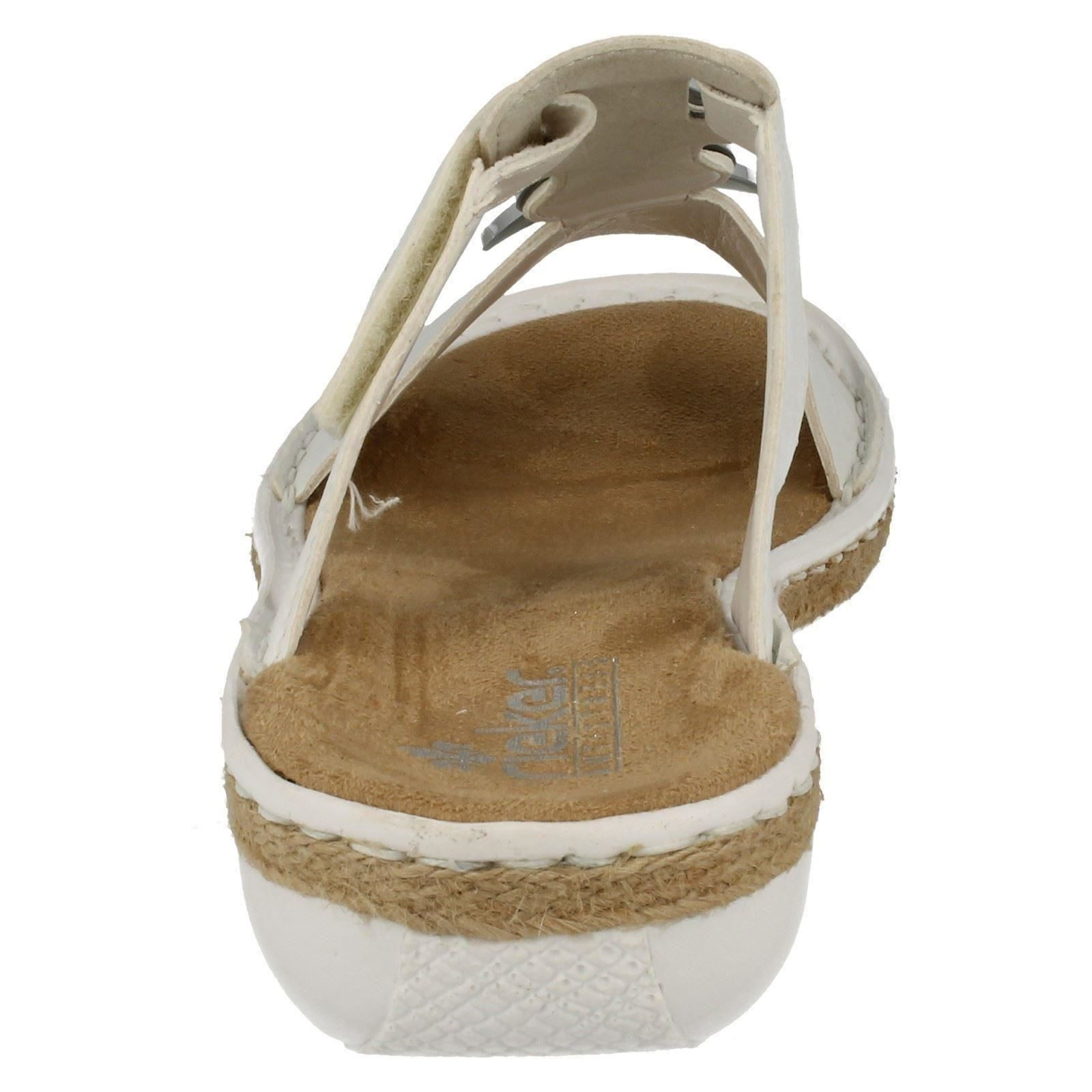 62353 White Label Combi Rieker Sandals Ladies qxtPUP