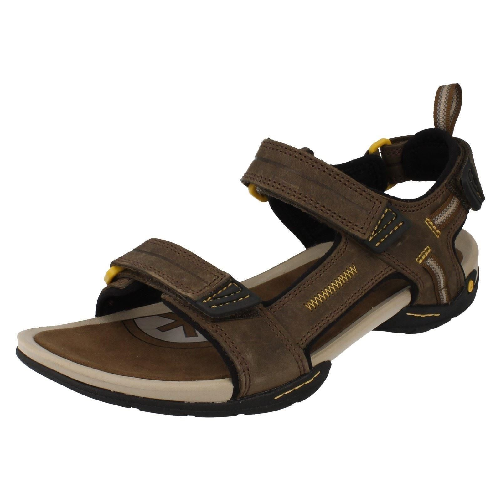 a4ea9e2858f27d Clarks Mens Brown Double Strap Sandals From Debenhams UK 10 8113217 ...