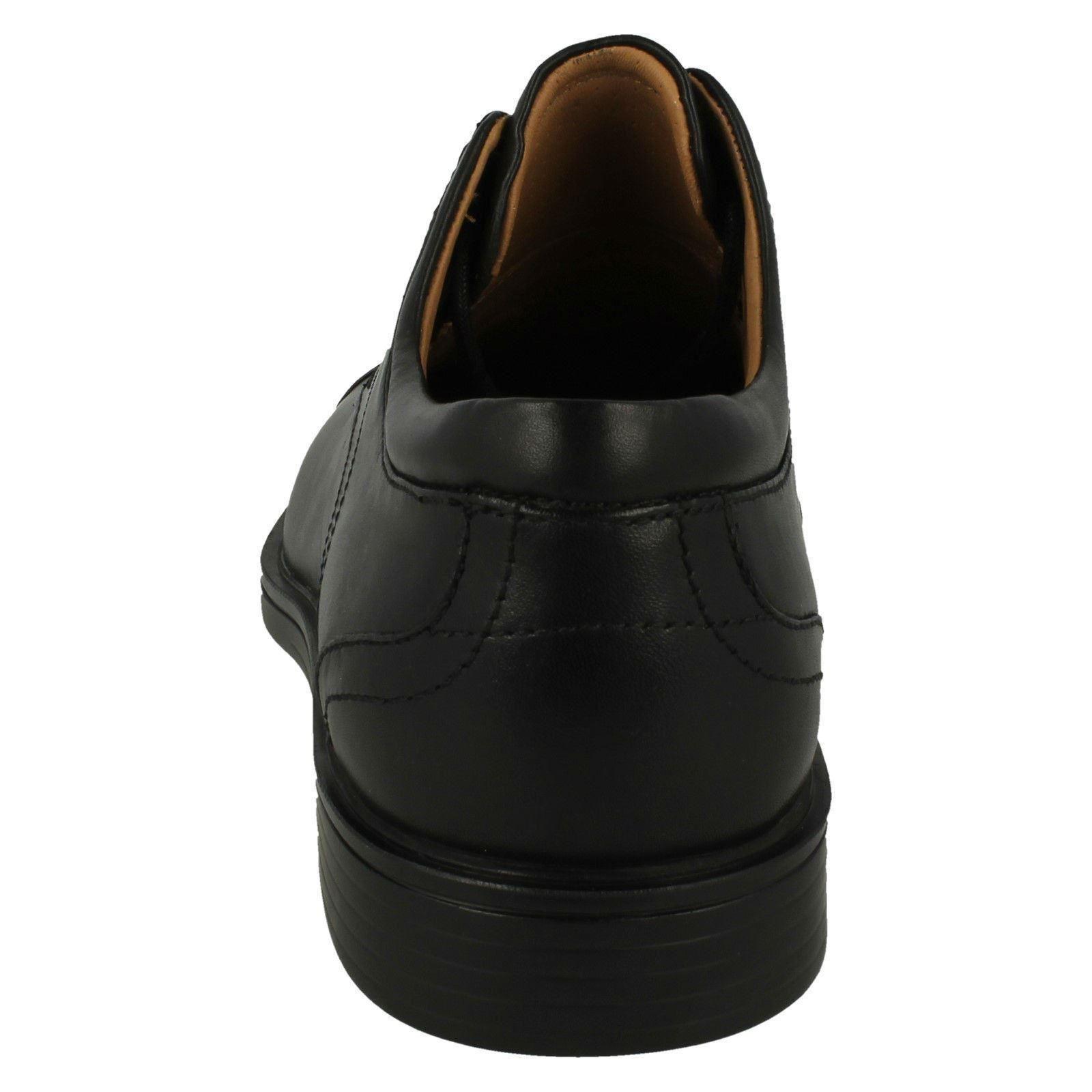 Men's Unstructured by Clarks Formal Lace Up Shoes Label - Un Aldric Cap
