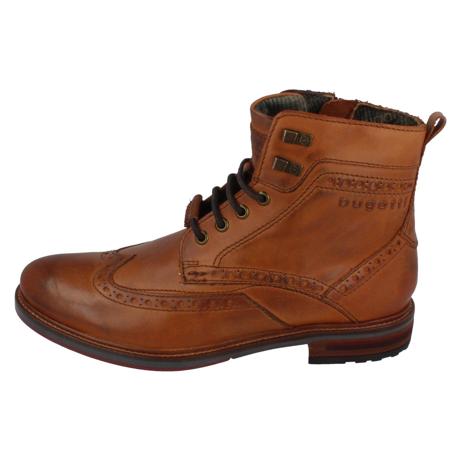 Mens Bugatti Bugatti Bugatti Leather Ankle Boots - The Style 311-37737-1100 ~ N 506b11