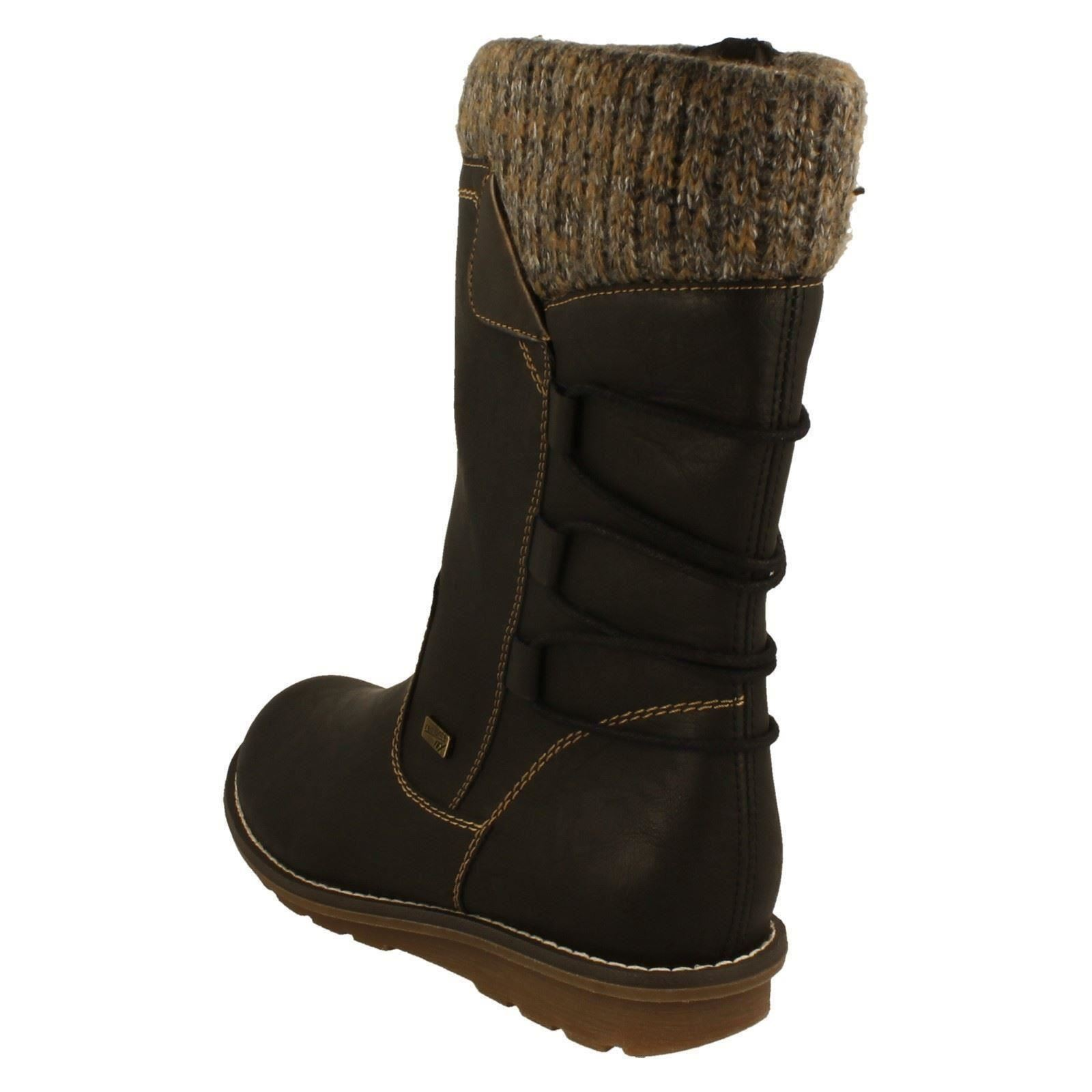 Ladies Remonte Mid Mid Remonte Calf Boots Style R1094-W 7c6ad1