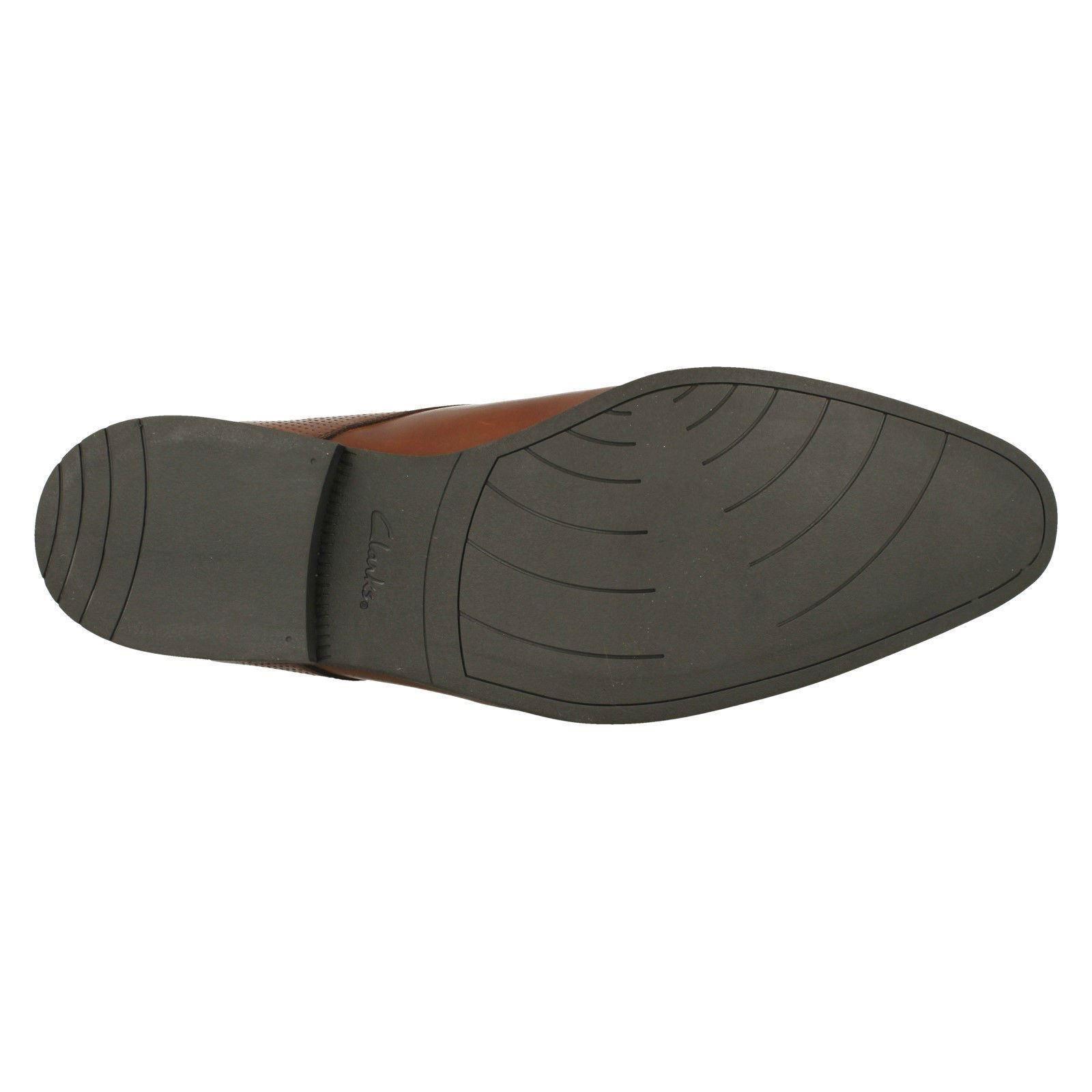 Herren Leder Clarks Leder Herren Lace Up Formal Smart Schuhes Style - Bampton Walk d13a9f