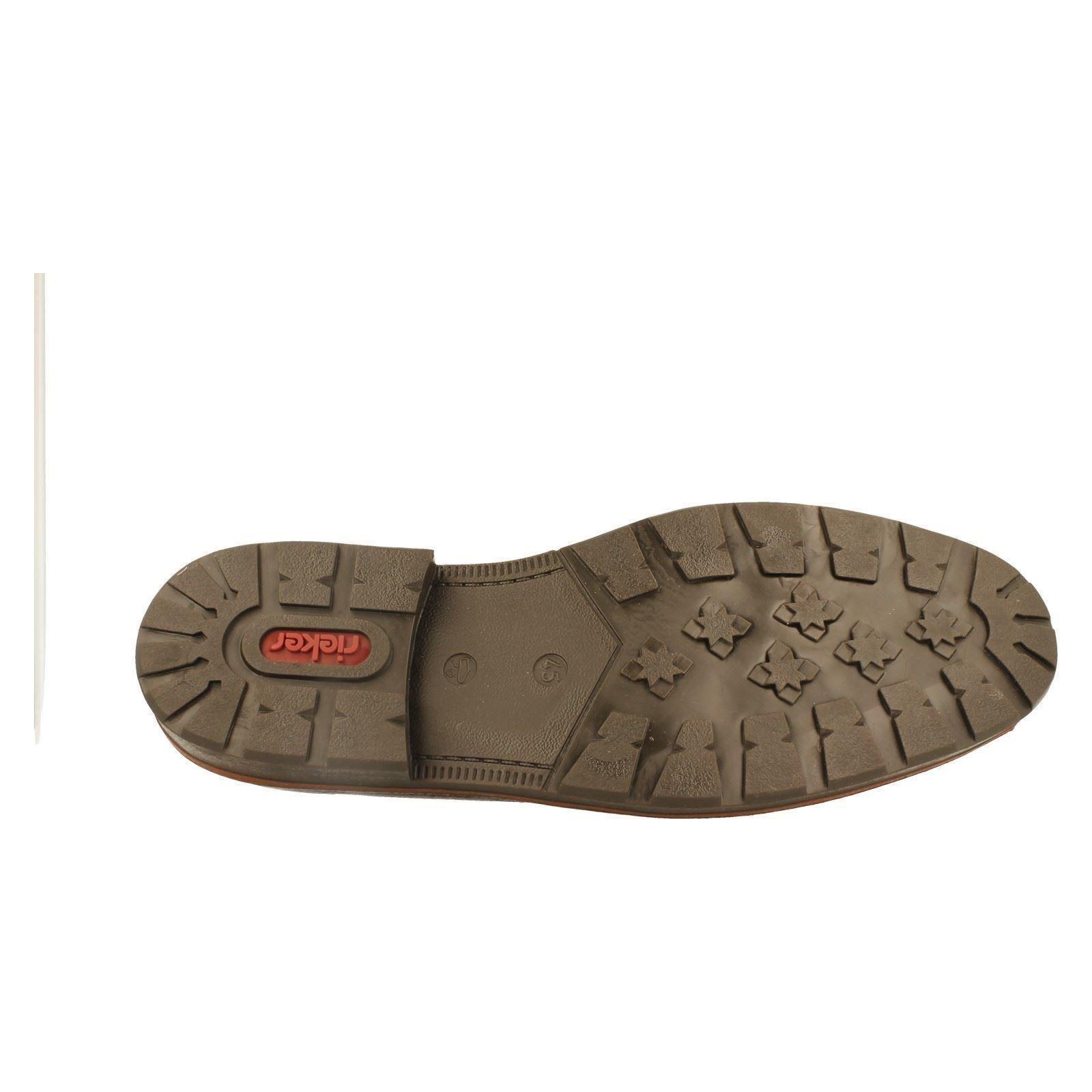 Linen Boots Brown Label Mens Rieker 35362 Warm w OwqT7