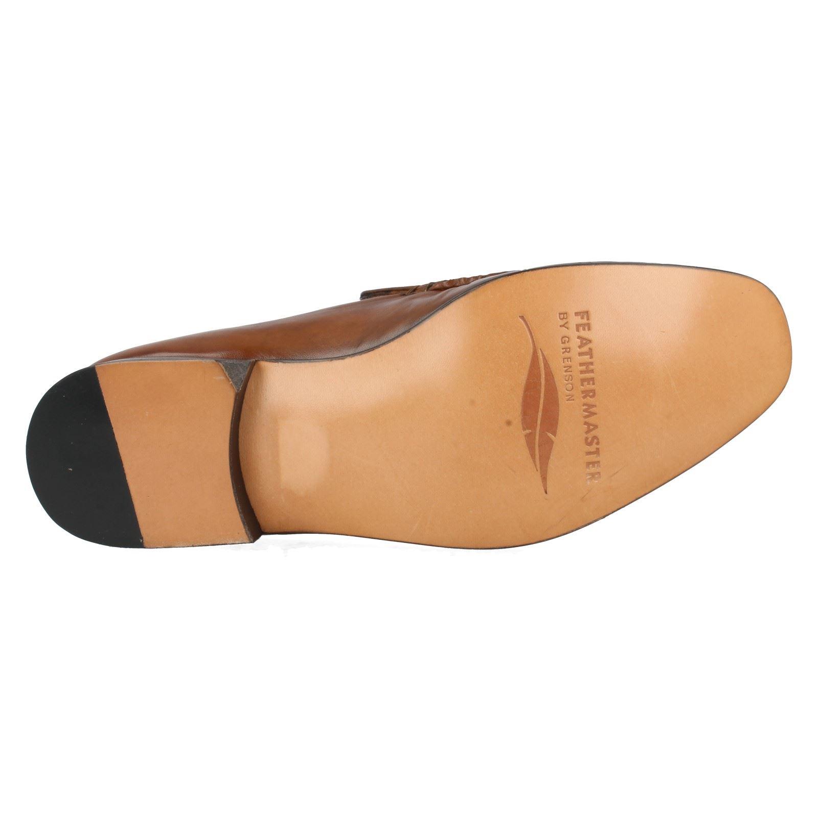 Herren Grenson feathermaster formelle Mokassins passend f Style - Nevada 9685