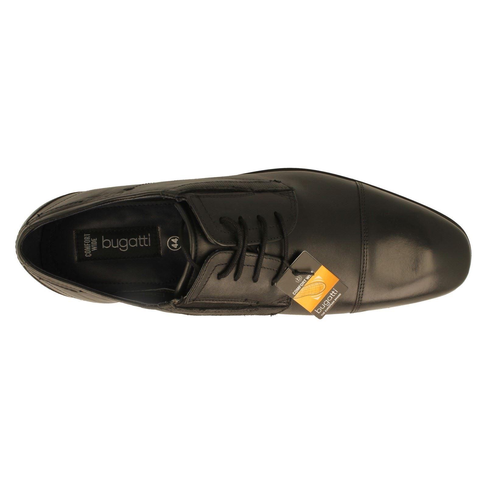 Herren Bugatti Casual Lace Up Leder Schuhes Savi Evo c3fd9d