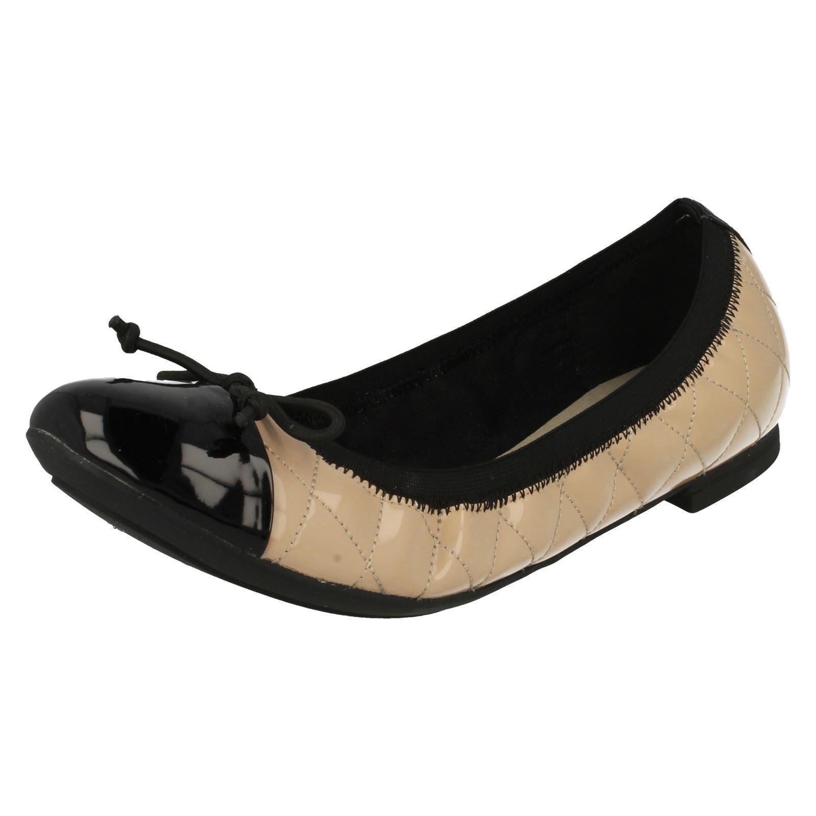 Elastacated Shoes Pumps Ballerina Flat Ladies Clarks Label x0qn5w40Ff