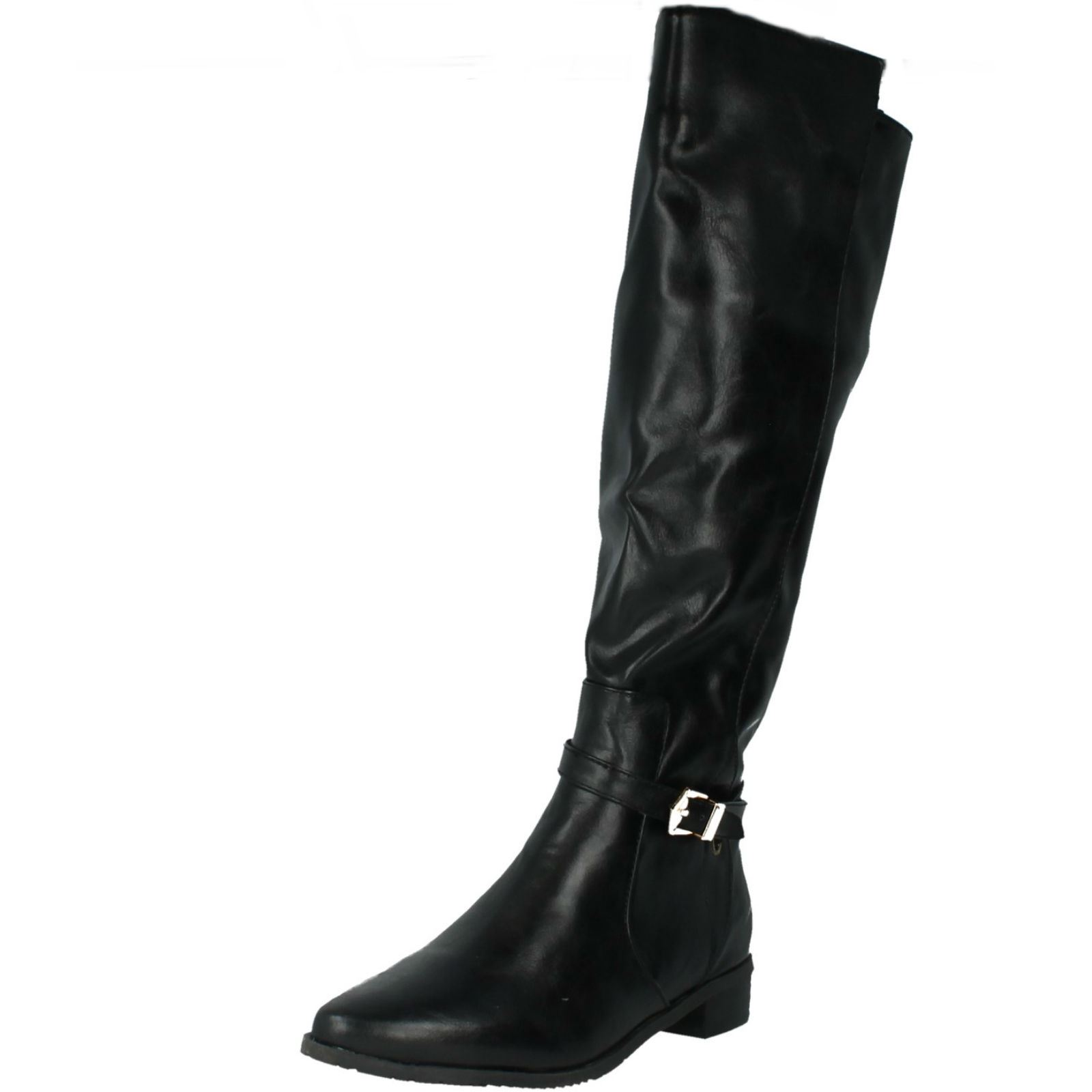 Damas Spot On Botas Estilo-F50308