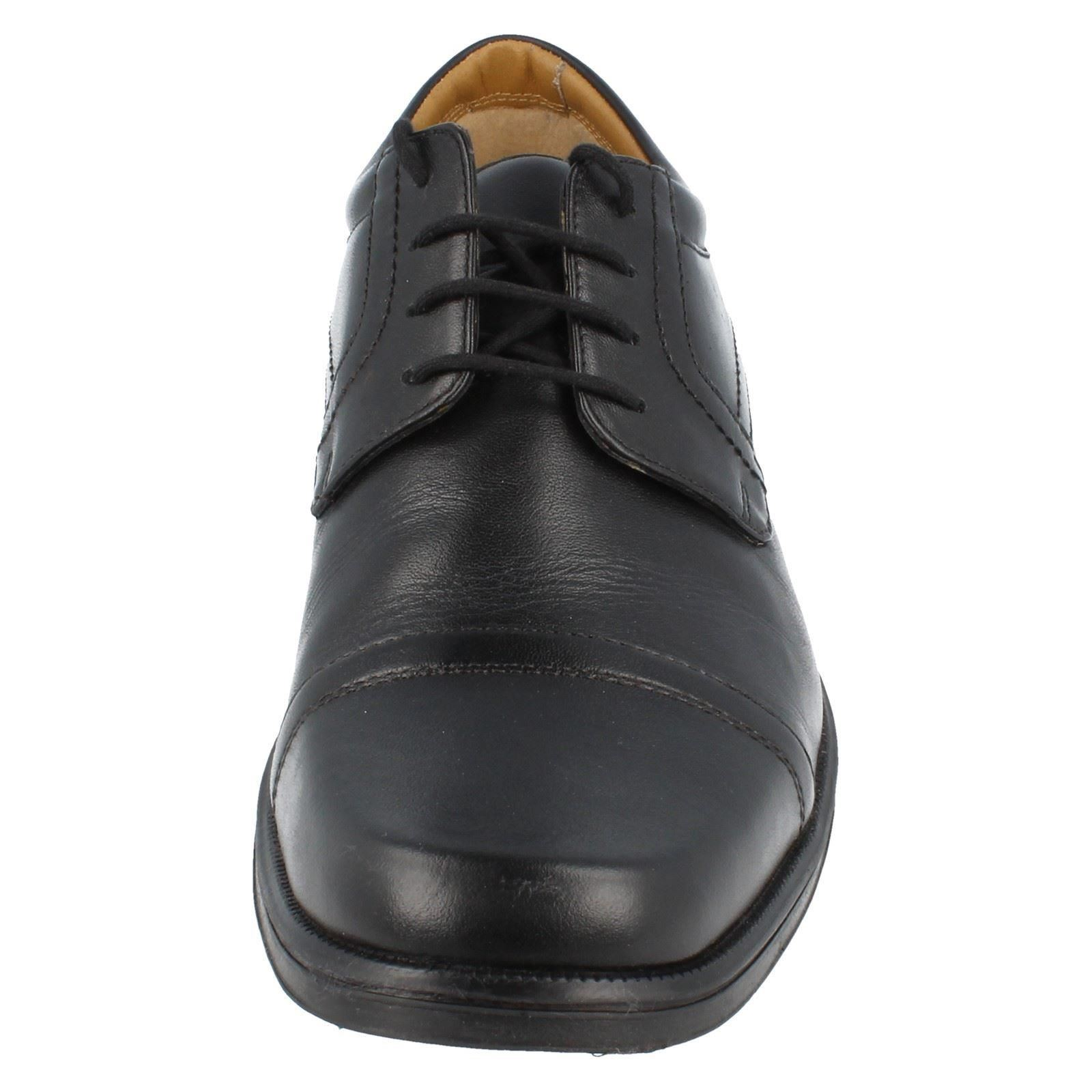 Shoes Cap N ~ Clarks Nero The Style Mens Handle g5C4wxT