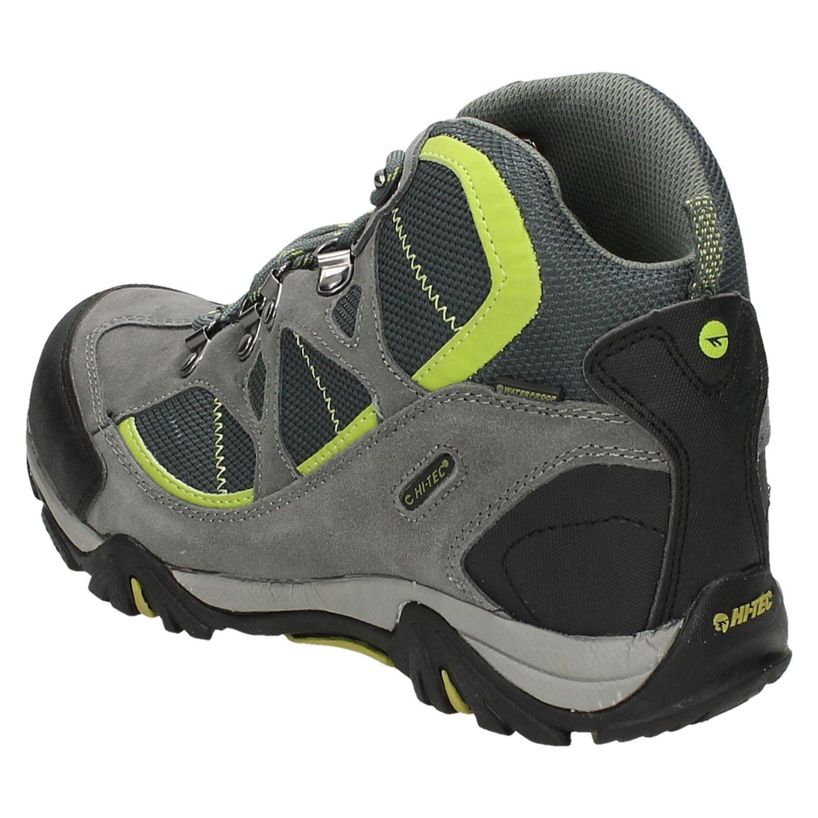 Boys Junior Hi-Tec Waterproof Walking Boots Label Renegade Trail WP JR