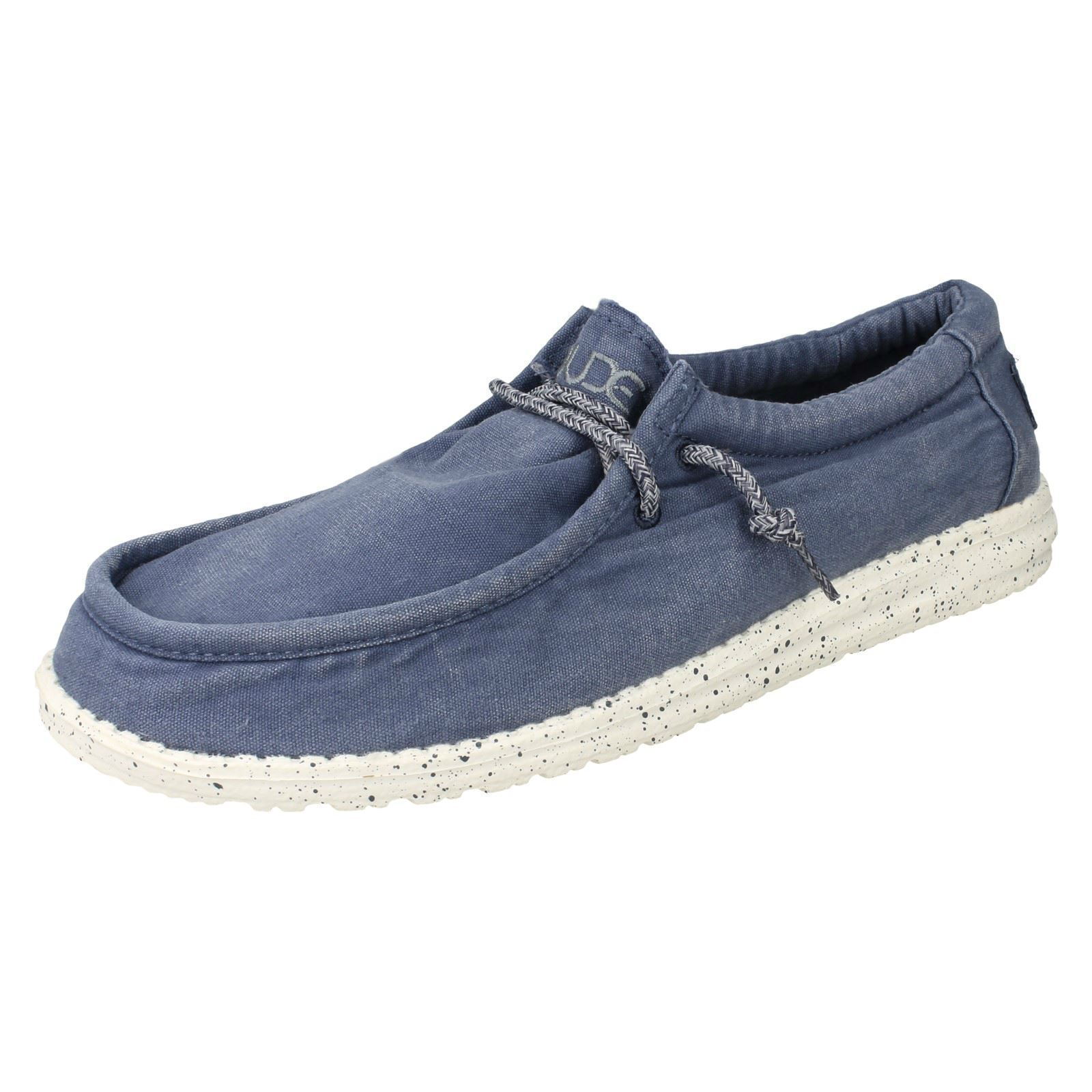 Mens Hey Casual Dude Casual Hey Shoes Wally Washed 579771