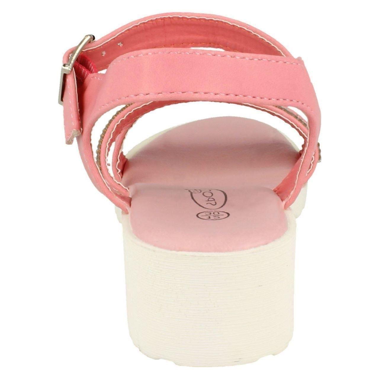 Girls Spot On Summer Sandals H1071 Label ~ K